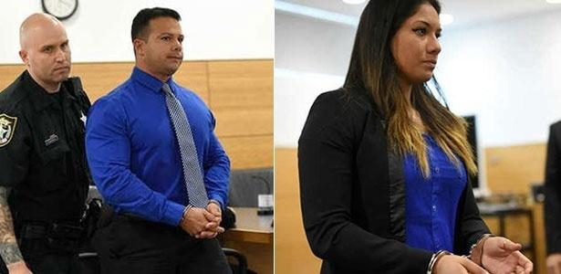 José Caballero e Elissa Álvarez foram presos por fazer sexo em praia na Flórida