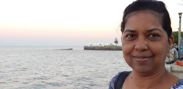 A funcionária pública de Campinas (SP) Abigail Fernandes da Cruz, 48, foi diagnosticada com lúpus há dois anos