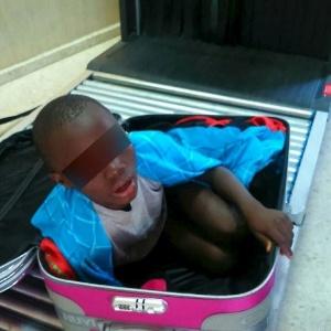 Em maio deste ano, um menino de oito anos foi retirado de uma mala na verificação de segurança da fronteira espanhola com Marrocos