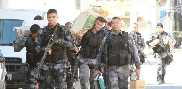 Participam da operação policiais do COE, do Bope, do Choque e do Batalhão de Ações com Cães