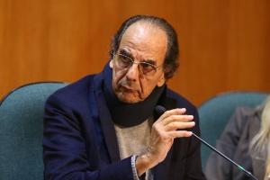 Mário Góes, apontado pelo Ministério Público como operador de propinas da Petrobras, presta depoimento na CPI em Curitiba