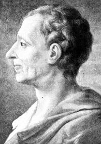 Montesquieu idealizou o Estado regido por três poderes separados