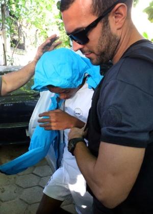 A Polícia Civil do Rio apreendeu o primeiro adolescente suspeito de ter esfaquear o médico Jaime Gold no dia 19 de maio