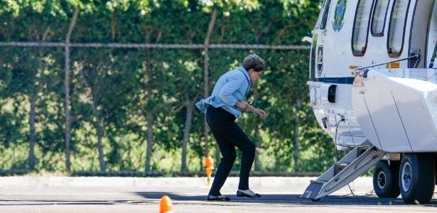 Em 2 meses, Dilma usou o helicóptero 28 vezes; o gasto estimado é de R$ 28 mil