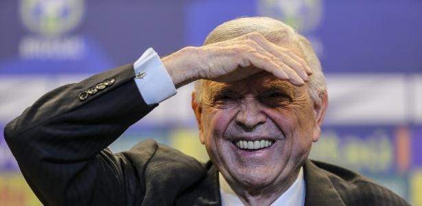 Marin era presidente da CBF durante a Copa do Mundo de 2014
