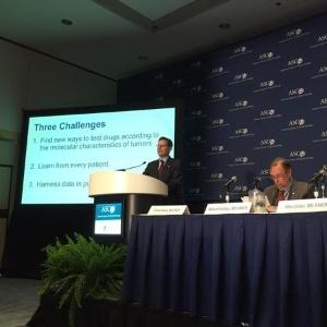O estudo foi lançado no último congresso da ASCO (sociedade norte-americana de oncologia clínica, na sigla em inglês), em Chicago, nos Estados Unidos, na última semana