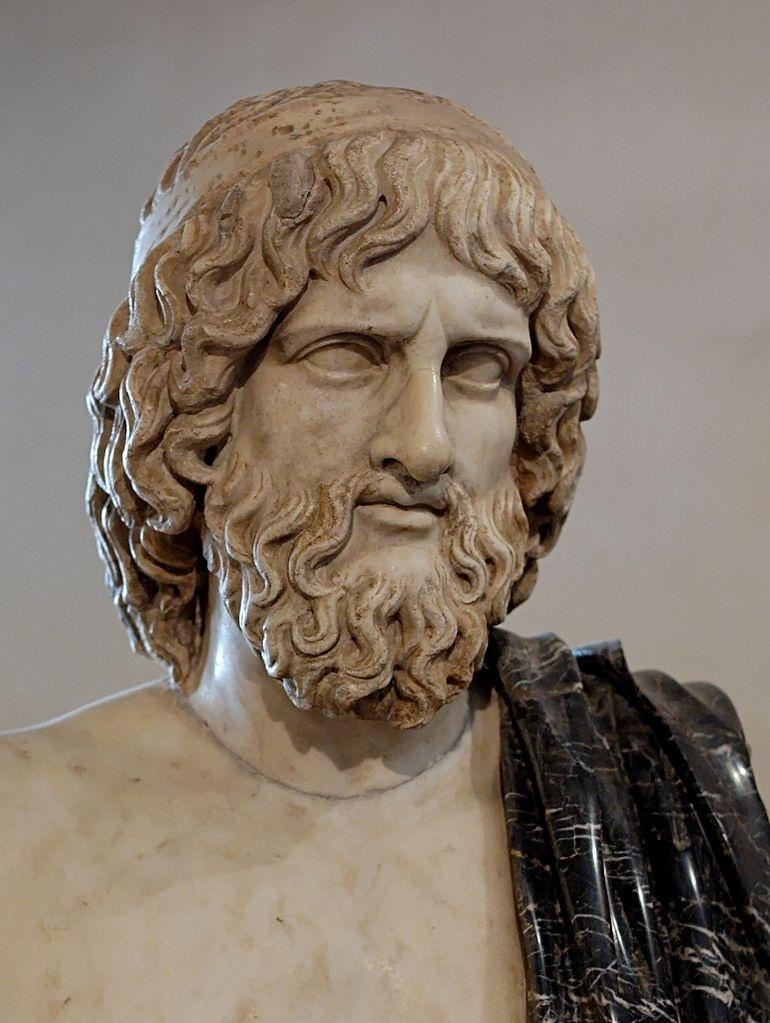 O deus grego Hades, senhor do mundo subterrâneo