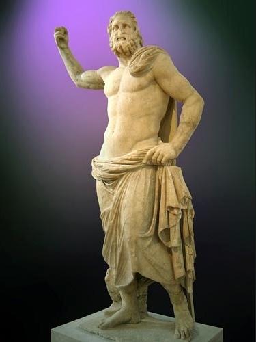 Poseidon, deus do mar e dos lagos