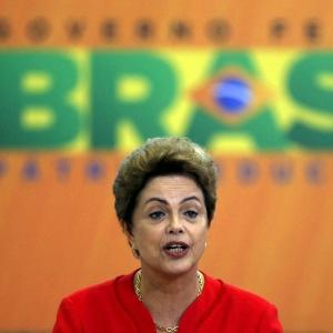 9.jun.2015 - A presidente Dilma Rousseff
