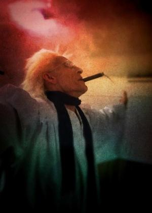 """Bill Levin, 59, é criador da """"Igreja da Cannabis"""""""