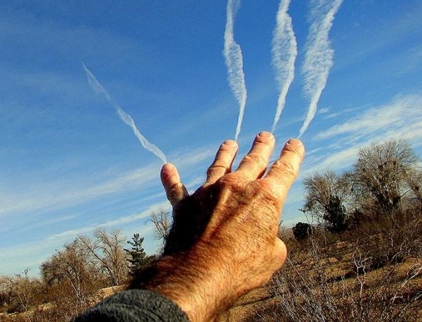 10.jun.2015 - Poderes mágicos? Não, são apenas as nuvens
