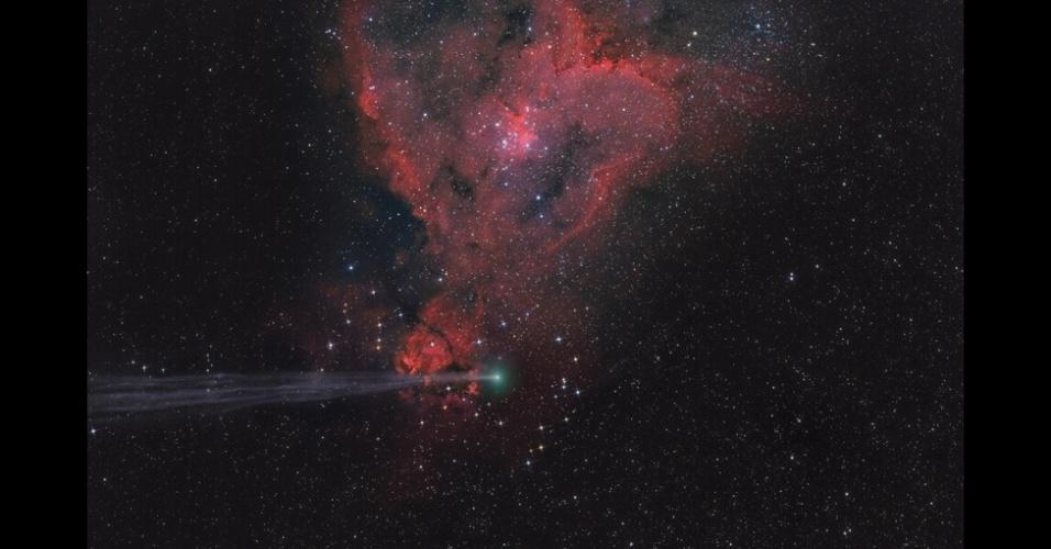 18.set.2015 - Um dos juízes da competição - o comediante, impressionista e astrônomo amador, Jon Culshaw - descreveu essa imagem como