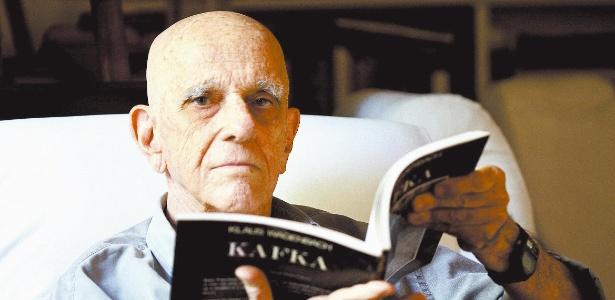 """O escritor Rubem Fonseca, na época do lançamento do livro """"O Seminarista"""""""