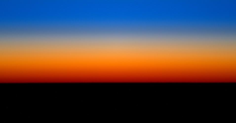 25.mar.2016 - O astronauta Tim Peake compartilhou essa imagem com o seguinte comentário: