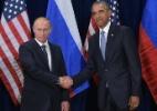 Putin joga pôquer; Obama, xadrez (Foto: Mandel Ngan/ AFP)