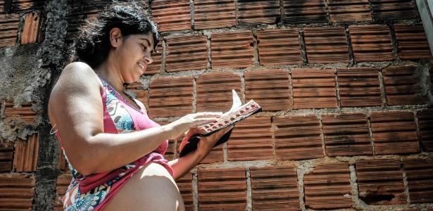 Elisangela Ferreira Maia Zampier, 36, moradora de Ribeirão Preto, interior de São Paulo, está grávida de 15 semanas e está com suspeita de zika