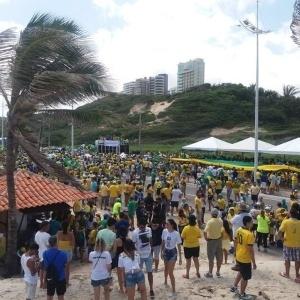 PM estima em 3.000 o número de manifestantes em São Luís - Ananda Paz/UOL