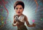 Escuta Essa! Perto do Carnaval, Dilma leva vaia e encarna a Vingadora - Arte UOL