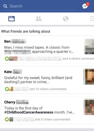 """""""O que seus amigos estão falando"""", recurso do Facebook em fase de testes"""