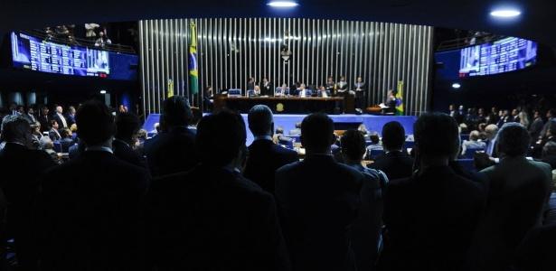 Sem sessão da Câmara, deputados acompanharam votação no Senado nesta quarta (25)