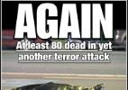 Horror após festas: imprensa internacional destaca ataque no sul da França - Reprodução