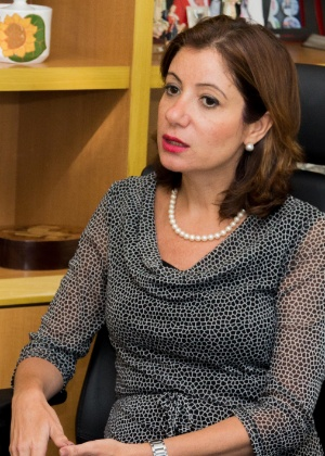 Juíza Adriana Ramos de Mello (Foto: Brunno Dantas/TJRJ)