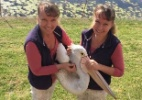 As gêmeas australianas que fazem tudo juntas - até falar (Foto: Arquivo pessoal)