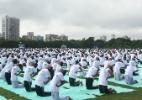 Índia registra posições de ioga para evitar patentes (Foto: Str/Xinhua)