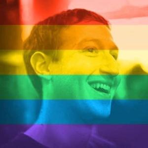 Mark Zuckerberg, diretor-executivo do Facebook, mudou a foto de seu perfil com a aprovação do casamento gay nos EUA