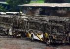 Incêndio destrói 31 ônibus em São José dos Campos - Lucas Lacaz Ruiz/Estadão Conteúdo