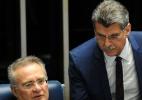 """Para Jucá, é preciso dar um """"desconto"""" a Renan por declarações - AFP"""