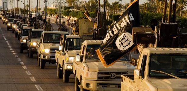 Estado islâmico em Sirte, na Líbia