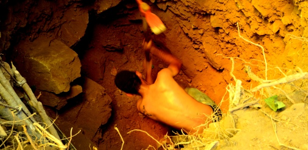 Informação do surgimento de um novo eldorado do ouro no Mato Grosso atraiu centenas de pessoas