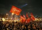 Manifestantes fazem ato contra Michel Temer em São Paulo - Marlene Bergamo/Folhapress