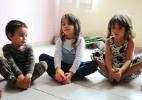 Escola infantil em SP tem horta, rede e meditação - Junior Lago/UOL