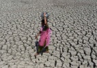 Índia registra temperatura recorde, durante onda de calor que afeta milhões - Sam Panthaky/AFP