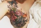 A tatuagem de uma mulher com câncer da mama que se tornou viral na internet - Alison Habbal