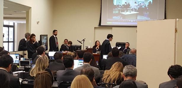 Julgamento da chacina de Unaí no plenário da Justiça Federal, em Belo Horizonte