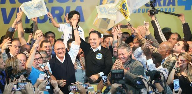 O candidato do PSDB à Prefeitura de São Paulo, João Doria, foi eleito no 1º turno