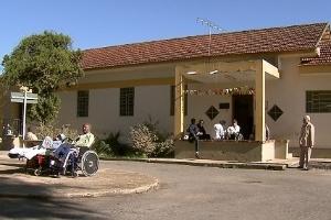 Fachada do Colônia, conhecido com o maior hospício do Brasil. Hoje, o local abriga o Centro Hospitalar Psiquiátrico de Barbacena