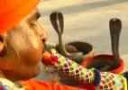 A 'habilidade inata' dos encantadores de serpentes do Paquistão (Foto: BBC)
