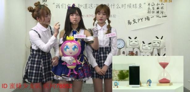 Transmissão ao vivo do Mi Max, celular da Xiaomi que está ligado há nove dias