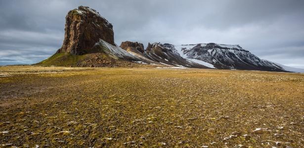Em um arquipélago no Ártico da Rússia, a preocupação é com o derretimento do gelo, que já foi perene