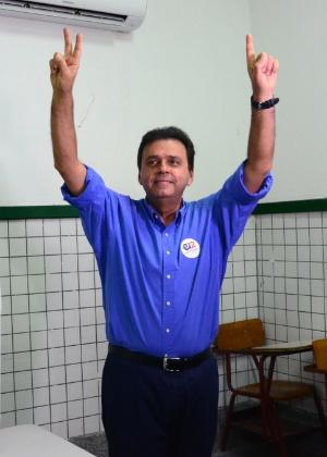 O prefeito de Natal, Carlos Eduardo Alves (PDT)