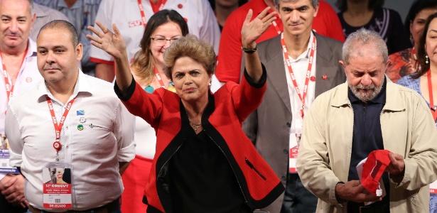 """Em evento da CUT, Dilma disse que tentativa de impeachment é """"golpe"""" da oposição"""