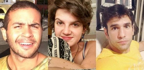 """Criadores do """"barulhaço"""", Fabrício, de 21 anos, Gopala, de 19, e Rodrigo, de 23, dizem não temer críticas por sua posição política: """"A gente tá doido para conhecer Havana"""""""