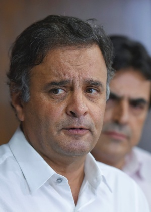 O presidente nacional do PSDB e senador Aécio Neves