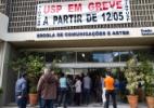 Prédios da ECA e da História e Geografia são ocupados na USP - Florio E./Futura Press/Estadão Conteúdo