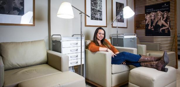 Tatiana Carvalho já contratou cabeleireiro, maquiador, manicure e massagista