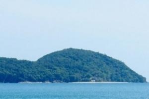 Fotos da Ilha da Almada, em Ubatuba, que será leiloada